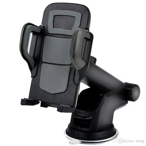 Car Mount Smart Mobile Phone Holder Handfree Dashboard Téléphone support en métal pour téléphone portable iPhone 7 6 Samsung S8