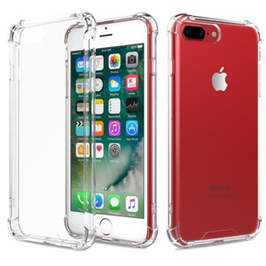 Fit Shockproof Transparent PC Back TPU Bumper Scratch Protection Case Cover for iPhone 6 6S iPhone 7 8 PLUS X XS XR 11 PRO MAX SE 2 2020