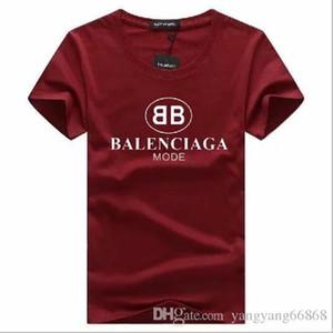 Großhandel plus Größe Luxury Classic Marke o Hals T-Shirt Street Run Bodenbildung Shirt Kurzarm Poloshirt T Frauen Designer Herren Tops # 99