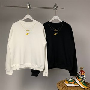 Spor Marka Erkek Tişörtü Klasik embroid Kadınlar Kapüşonlular Casual Kazak Lüks Kazaklar Hiphop Bluz Moda Gömlek Noel Hediye B105210L