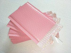 Atacado 15x20 + 4 centímetros 100pcs / lot luz rosa Poly bolha Mailer envelopes Mailing acolchoado uso balão auto vedação para pacote de presente