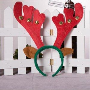 Noel Süsleri Çocuk'S Yetişkin Işık Kafa Antlers Kafa Headdress Kız Sevimli Prenses Noel Kafa