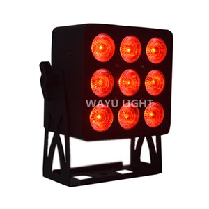 9x12W 4IN1 Led Par luce RGBW DMX 512 piatto Par Can 4 / 8CH 90V-260V American DJ Mega piatto Quar luce Stage Color LED