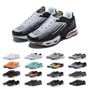 Designs 2019 Além disso TN III 3 Sports Shoes Homens Mulheres Chaussures Tuned Black White Original Tn Ultra Formadores de luxo correr OG Sneakers