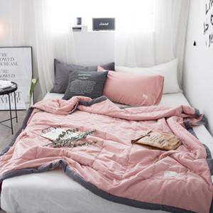 Neue feste zusammengezogen Decke Tröster Bettdecke Quilting Sommer Quilt Heimtextilien Geeignet für Kinder Kinder Männer Erwachsener frei SH190917