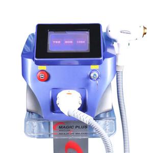 2020 No Pain Três Wavelength 808nm 755nm 1064nm Diodo Depilação a laser permanente do cabelo Removal Machine Diode Laser