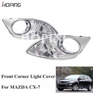 Hoffnung, Auto Frontstoßstange Ecklicht Abdeckung Nebelscheinwerfer Abdeckung für CX7 CX7 Ersatznebellampenhaube