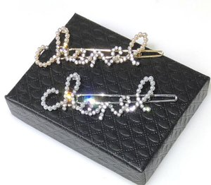 Marque de mode populaire version haute pince à cheveux pour dame Design femmes parti amoureux de mariage cadeau bijoux de luxe