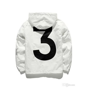 Mens Kanye West Jacket Hip Hop Windbreaker Mode Designer Vestes Hommes Streetwear Vêtements De Vêtements De Vêtements De Vêtements De Vêtements De Haute Qualité JK001