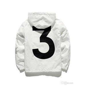 Mens Kanye West Giacca Hip-Hop Vintabreaker Fashion Designer Giacche Uomo Donna Streetwear Cappotto Cappotto Cappotto Cappotto Cappotto di alta qualità JK001