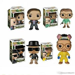 Agradável Brandnew 4 estilos Funko POP! Breaking Bad HEISENBERG Vinyl Action Figure Coleção Modelo com caixa de brinquedo para o bebê caçoa a boneca