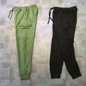 Mens Jogger Track Pants Pullover Side Pocket Budge lässig lang für Männer Frauen lose Hosen M-2XL