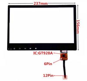 pour Voiture DVD GPS navigation contrôle central multimédia capacitif GT928A Écran Tactile Digitizer Écran Tactile Panneau En Verre