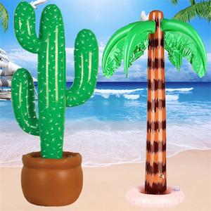 Noix de coco gonflables arbres épaissir PVC grande inflation réaliste cactus Fit Beach décoration fête hawaïenne En Stock 11 88jy E1