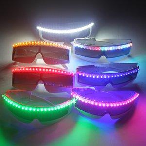 ستة ألوان نظارات ضوئية ، X-Men وامض نظارات ليزر إطلاق لنظارات ليزر عرض البطن راقصة البطن