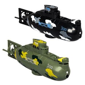 LeadingStar velocidad Radio Control remoto eléctrico Mini RC submarino carrera barco niños juguete Y200413