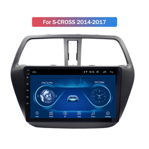 9 Inch Android 10 Car Dvd Gps Player for Suzuki S-CROSS 2014-2017 Built-in Radio Navigation Bt Wifi