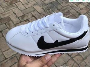 2019 новый горячий продажа дешевые Мужчины/Женщины кожа Повседневная обувь женщины и мужчины черный белый красный Повседневная обувь кроссовки обувь Size36-44