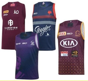 2020 Chaleco Rugby Australia tormenta de Melbourne QLD cimarrones Rugby jerseys Brisbane Broncos gallos de Sydney NRL Rugby League Jersey