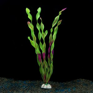 New Luminous Simulation Plant Aquarium Supplies Fish Tank Landscaping Decoration Fake Water Grass Plastic Flower Seaweed Seaweed