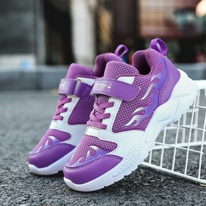 2020 Hot Sale Kids Girls Running Shoes Children Footwear For Boys Purple Teenage Girls Shoes Casual Young Boy Sneakers
