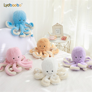 18cm creative Cute Octopus Plush Toys Octopus Whale Dolls Recheed Toys Plush Small Pendant Sea Animal Children Baby Gifts