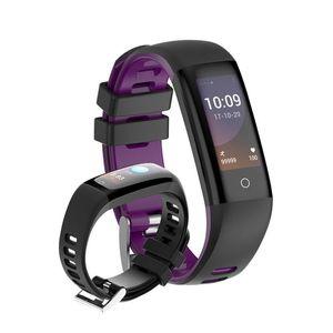 G16 Смарт браслет браслет часы монитор сердечного ритма Фитнес Tracker сенсорный цветной экран Шаг Браслет шагомер Спорт для Android и IOS