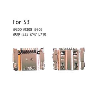 삼성 갤럭시 S3 S III GT-I9300 I9308 I939 I535 I747 L710 i9305에 대한 포트를 충전 USB 커넥터 소켓 플렉스 독 충전기