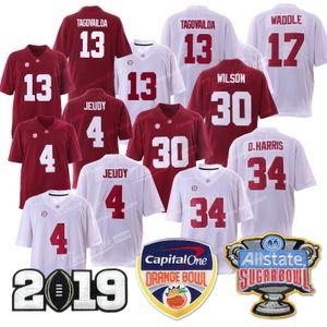 Чемпионат Alabama 13 Туа Tagovailoa Crimson Tide Orange Bowl 34 D.Harris 4 Джерри Jeudy 17 Waddle 30 Уилсон Джерси