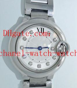الشحن مجانا الأعلى جودة الصلب WE902073 28MM السيدات حركة كوارتز ساعة الماس الهاتفي المرأة Wathces الأزياء