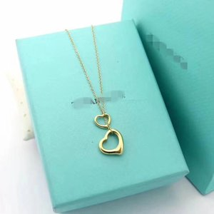 2020 Fashion open Heart Dainty Personalized Letter Name Choker Necklace For Women Pendant Jewelry Accessories Gift cd