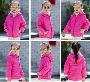 2020 Vêtements d'extérieur pour enfants garçon et fille hiver chaud manteau avec capuche enfants coton rembourré Doudoune Enfant Vestes 3-12 ans