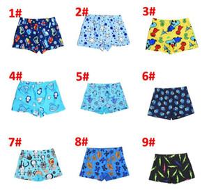 11 stile Kinder sommer druck shorts kinder baby mädchen cartoon gestreiften auto muster strand hosen kinder justieren gürtel shorts BY0876
