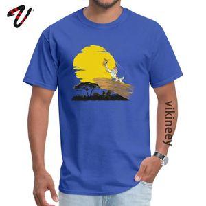 Rife Mens blu delle magliette Eevee Re casual maglietta delle parti superiori del tessuto di cotone a maniche corte Pazzo Tee Shirts O-Collo Top Quality