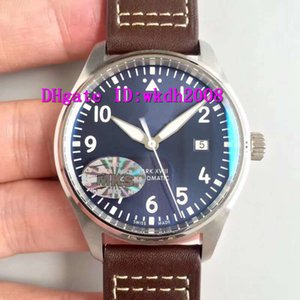 MKS Pilot IW327002 Luxury Watch Swiss 9015 Automatic Mechanical 28800 vph 316L Stainless Steel Sapphire Crystal Sport Watch Super Luminous