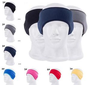 winter ear muffs Headband unisex ear warmer polar fleece Hair band skiing ear warmer outdoor hats 2020