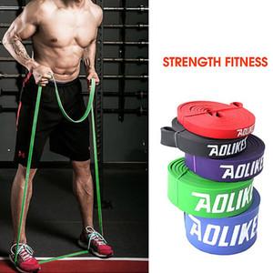 208 centimetri Pull Up elastico Yoga Banda lattice di gomma naturale resistenza del circuito Band palestra di casa Expander Rafforzare Trainning Fitness Men 04