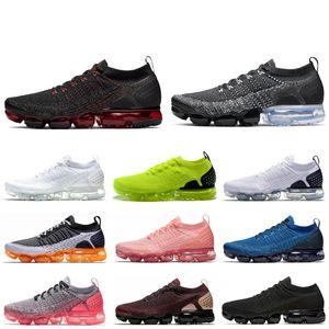 Nike air Vapormax 2.0 кроссовки манго Вольт малиновый пульс тренажерный зал синий тройной белый черный мужская Беговая ходьба Спорт на открытом воздухе кроссовки обувь 36-45