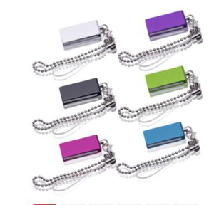 Über 30pcs geben Logo-Metall-USB-Flash-Laufwerk 32gb 16gb 8g Pen Drive USB Stick mit Schlüsselanhänger Pendrive 64GB Flash-USB Disk uk0001