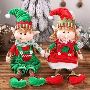 Elfos de pelúcia Elfos Bonecos de Brinquedo Enfeites de Árvore de Natal Decoração Presente de Ano Novo Xmas Decoração de Escritório Em Casa