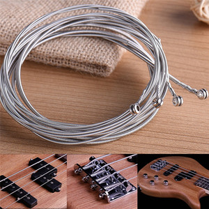 Bass 4 Strings Stainless Steel Bass Guitar Parts Accessories Guitar String Silver Plated Gauge Bass Guitar Music Accessories