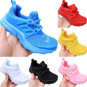 2020 Presto Kids Mesh Breathable Running Shoes Originals Presto Kid Buffer Rubber Built-in Zoom Air Cushioning Jogging Shoes