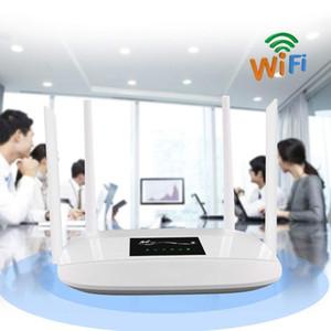 Router Wi-Fi LTE da 300 Mbps sbloccato 4G, Router CPE wireless da interno 4G con antenne 4Pcs e porta LAN Slot per scheda SIM PK HUAWEI B593