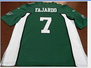 Uomo-Saskatchewan Roughrider Cody FAJARDO # 7 reale ricamo completa universitario Jersey il formato S-5XL o personalizzato qualsiasi nome o numero di maglia