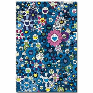 Presentes Murakami Takashi Japanese Pop Kaikai Silk Art Poster Paintings