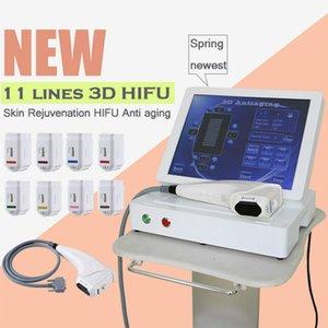 2019 Hottest 3d HIFU Slimming Body Tratamento High Intensity Focused Ultrasound 3D HIFU Máquina HIFU Slimming Sistema frete grátis
