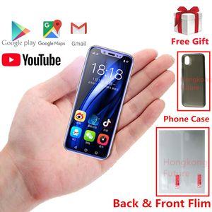 Mini Pocket Smartphone di lusso per Android Gold K-TOUCH I9S MTK6580 16GB GPS Celular WIFI Supporto ID digitale Google Play Super Small Cellulari
