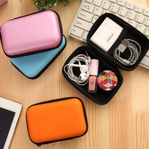 Portable Cable Storage Bag Zipper Protective Earphone Digital Wire Organizer USB Charging Data Cables Gadget Travel Storage Bags