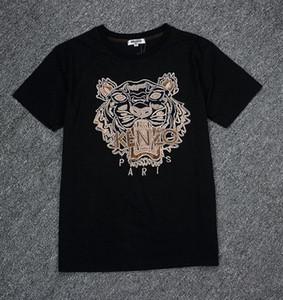 2019 роскошные Европа Kenzo из Франции высокого качества Vetements и мультфильм футболка мода мужские дизайнер Т рубашки женщины одежда свободного покроя хлопок тройник