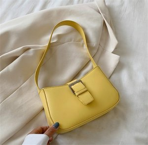 Baguette Bags Simple Single Shoulder Armpit Women Bag Fashion Hand Carry Bag 5 Colors PH-CFY20051840